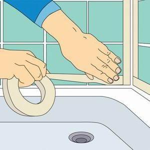 silicon de etanșare pentru lucrări de instalații sanitare