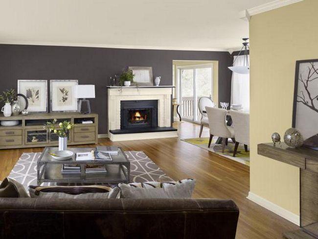 гостиная в серых тонах дизайн
