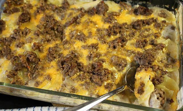 ciupercă cu cartofi în cuptor