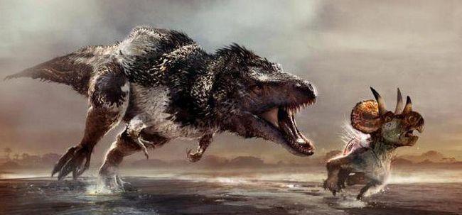descrierea dinozaurilor de pradă