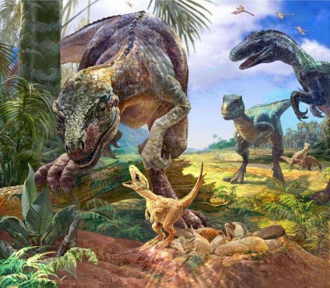 dinozaurii dătari din perioada jurasică