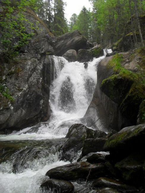 quarkhush și cascade Zhigalan