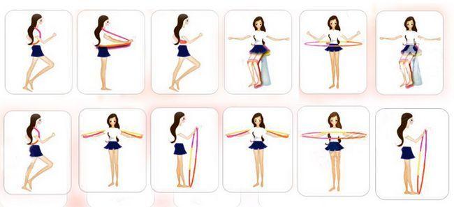 Exerciții cu hulauchup