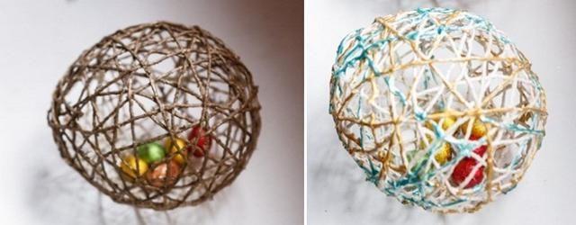 idei pentru Paște cu mâinile lor