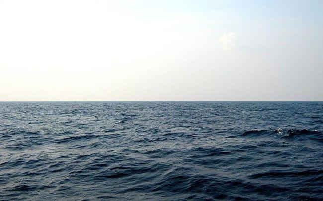 Suprafața mării fără sfârșit