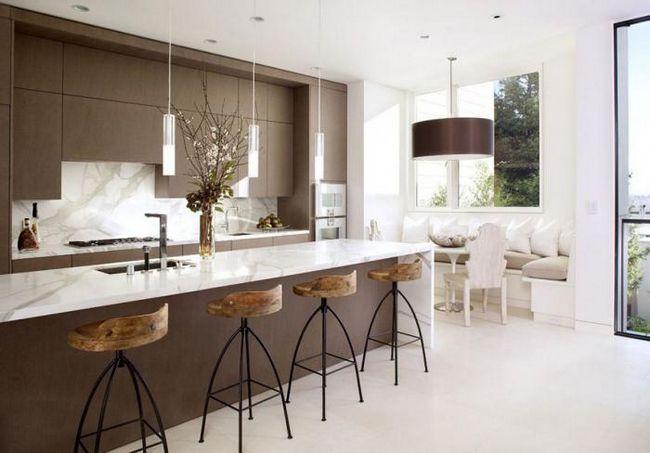 interiorul bucătăriilor frumoase