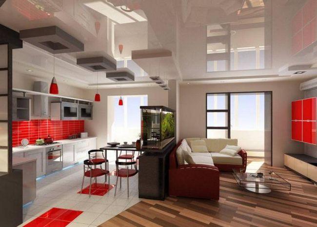design interior frumos bucatarie