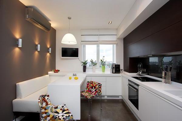 bucătărie interioară 9 mp