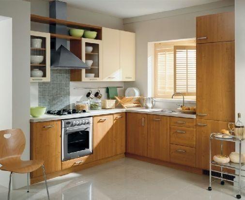 interior de bucătărie în Hrușciov