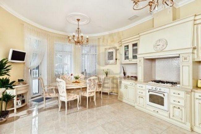 interiorul bucătăriilor în stil clasic