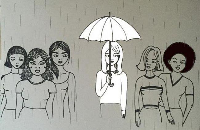 radical feminism vs intersecționism