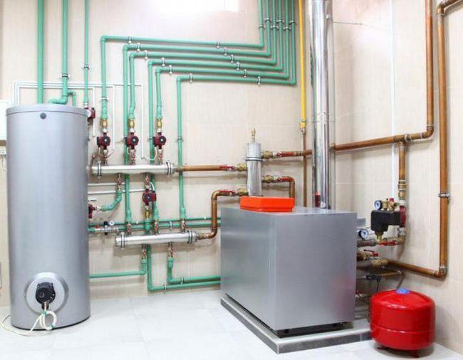 instalarea sistemelor interne de inginerie a clădirilor