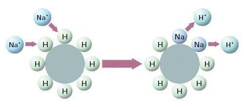 rășină schimbătoare de ioni pentru filtru