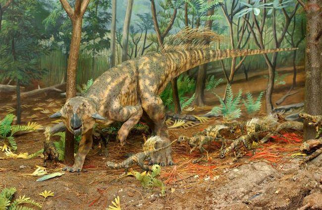 istoria dinozaurilor