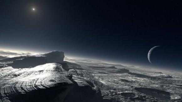 atmosfera planetei Pluto