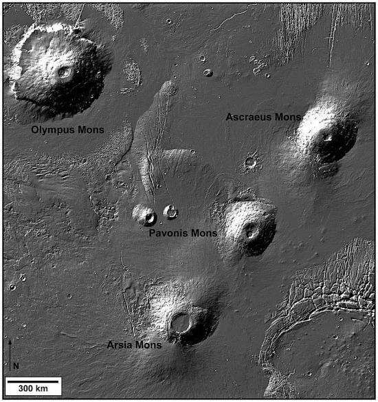 ceea ce este suprafața lui Mars
