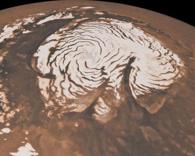 Marte temperatura suprafeței