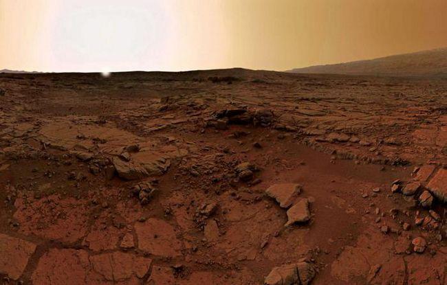 care este suprafața Marte