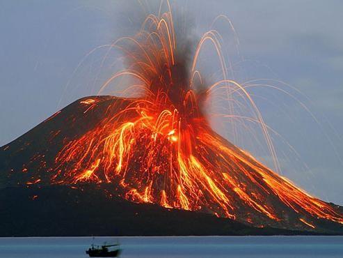 Erupția vulcanică: cauze și consecințe