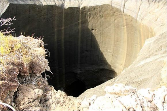 craterul Yamal nu este permafrost