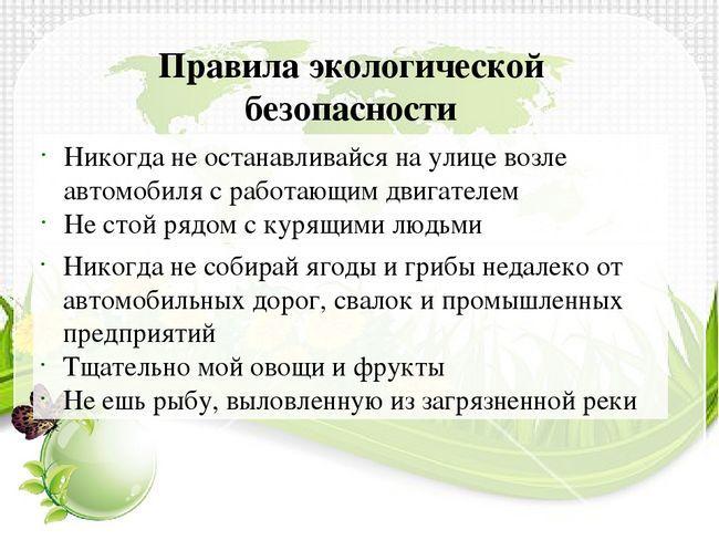 siguranța ecologică a Rusiei
