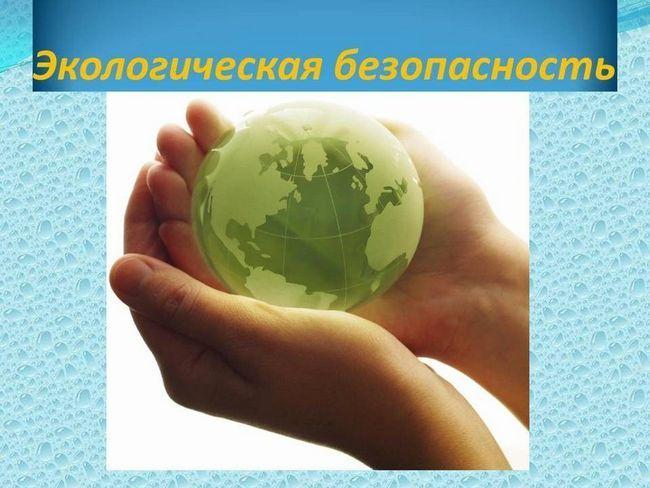 caracteristici ale siguranței ecologice