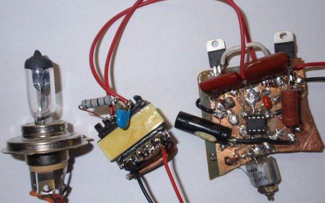 sursa de alimentare de la un transformator electronic