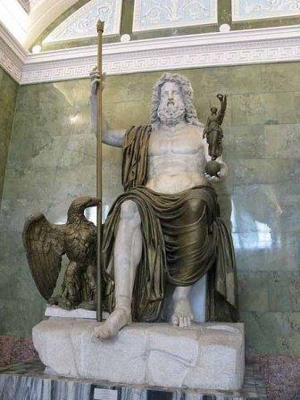 Jupiter - dumnezeul cerului și patronul Romei