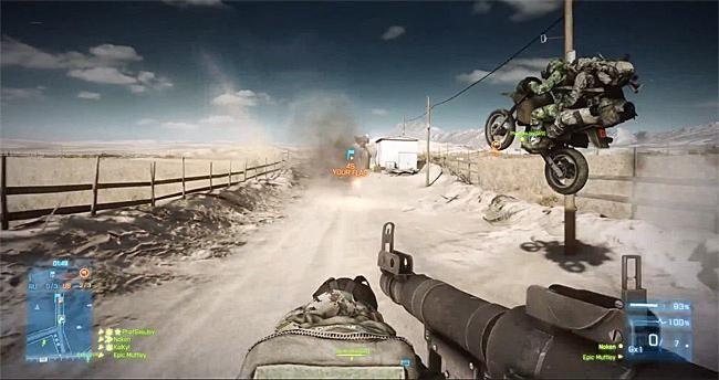 juca online în Battlefield 3
