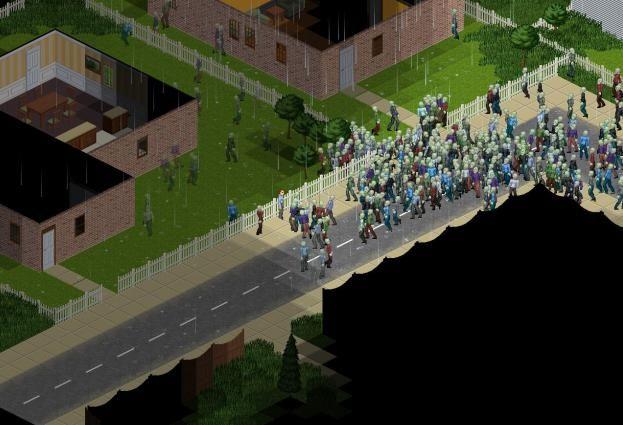 cum să joci proiectul zomboid peste rețea