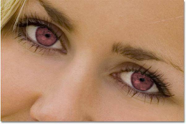Modificarea culorii ochilor în Photoshop: instrucțiuni pentru începători