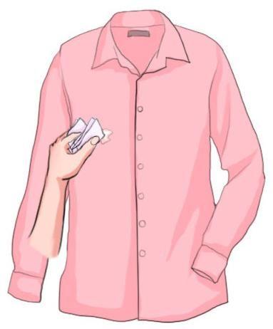 cum să îndepărtați adezivul de haine
