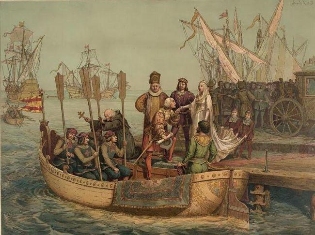 în anul în care Columb a deschis America