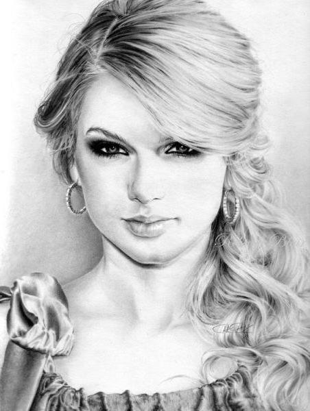 Cum de a desena o fată frumoasă în conformitate cu legile de simetrie