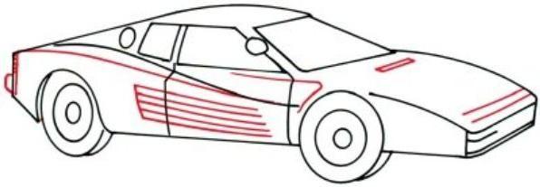cum să atragă o mașină