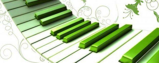 cum să atragă un pian