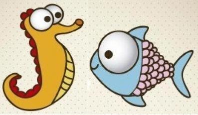 Cum de a desena un pește și un acvariu - două clase de master