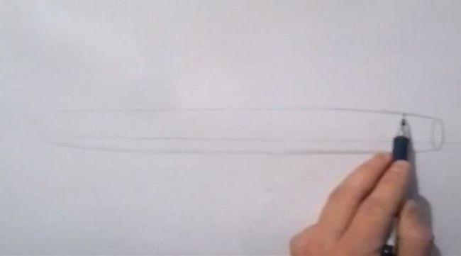 cum să desenezi un avion în etape