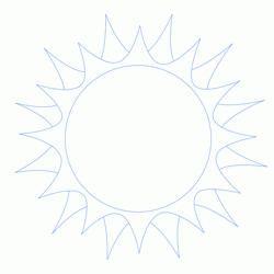 cum să atragă un apus de soare
