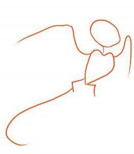 Cum de a desena o febră pentru o pasăre? Procedură pas cu pas