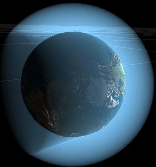 care este numele cocii de aer a Pământului