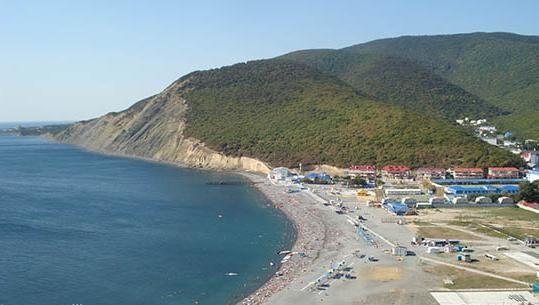 Plajele nisipoase din Krasnodar Krai fotografie