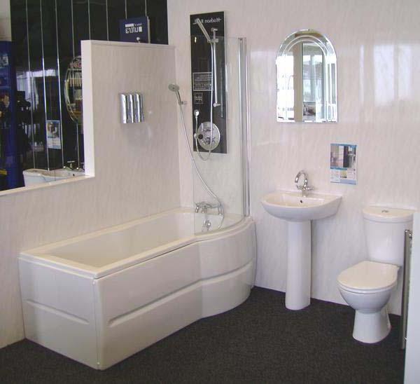 acoperim baie cu panouri din plastic