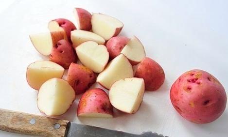 cum să fierbeți un cartof tânăr