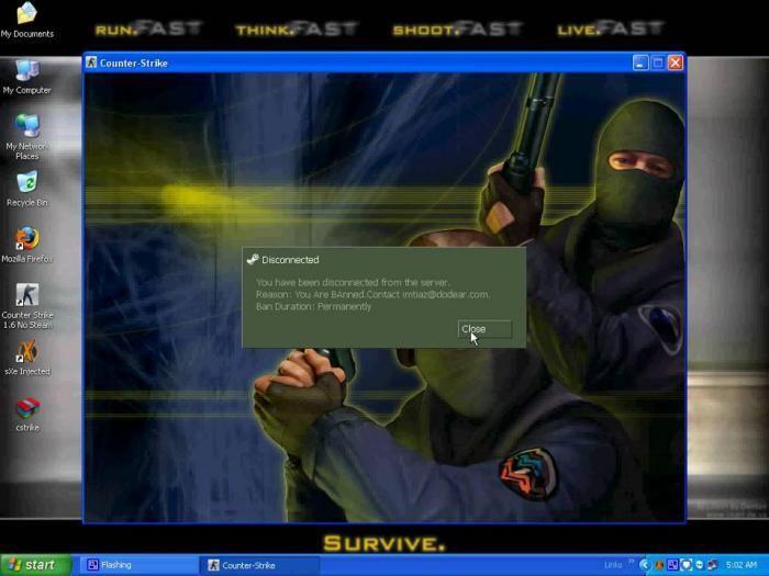 conectați-vă la serverul cs