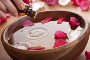 ulei de aromă într-o farmacie