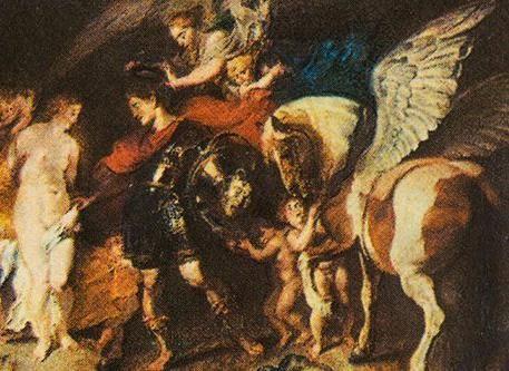 legenda constelației Pegasus
