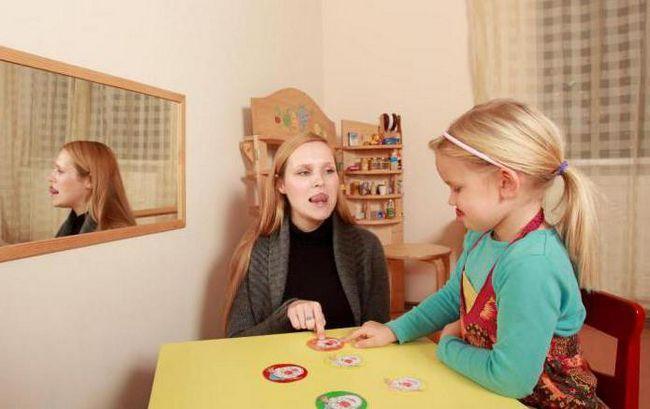 cum să puneți un sunet copil p