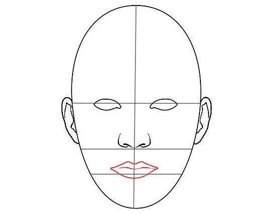 cum să atragă fața unui om în creion