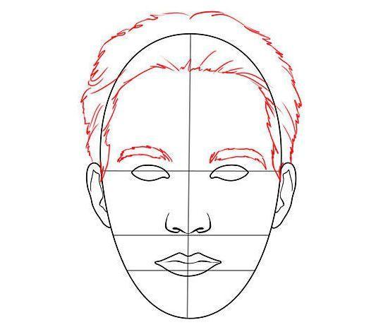 cum să atragă fața unei persoane